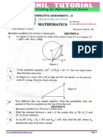 10th Class Solution of Cbse Board Paper 2015 Maths Set2