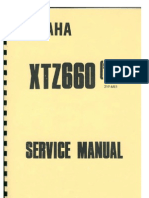 Service manual for Yamaha Tenere 3YF