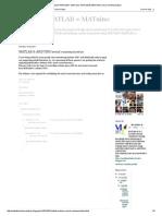 Arduino+MATLAB = MATuino_ MATLAB & ARDUINO serial communication