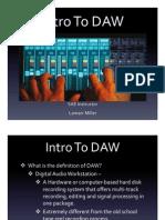 Intro to DAW Power Point