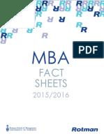 2015-2016 Rotman Fact Sheet