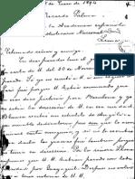 Carta Soledad Acosta de Samper a Ricardo Palma
