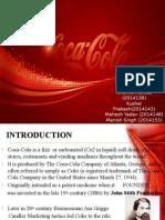 Final Coca Cola Project