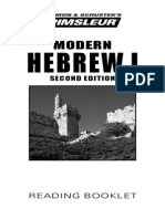 PIMSLEUR Hebrew Phase1 Bklt