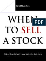 When to Sell a Stock Safal Niveshak Special Report