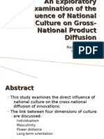 impact of culture on product diffusion