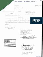 Frantz v. The National Football League - Document No. 5