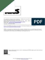 Braun, O. Un Modelo de Estancamiento Económico - Estudio de Caso Sobre La Economía Argentina
