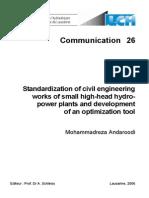 Standardization of Civil Engineering Works - Andaroodi