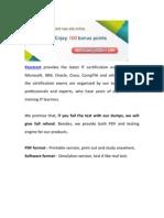 Passtcert 70-532 Exam Test Material