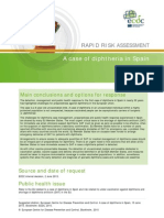 1diphtheria Spain Rapid Risk Assessment June 2015
