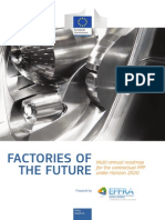 Factories of the Future 2020 Roadmap