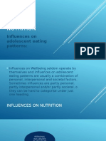 influences nutrition