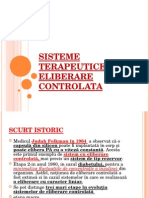 11.SISTEME TERAPEUTICE CU ELIBERARE CONTROLATA Curs X.ppt