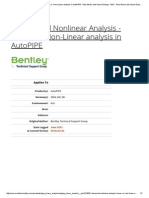 f. Advanced Nonlinear Analysis - Linear Vs
