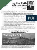 Newsletter Rachel Stanton July 2015
