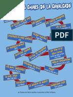Liste des chars de la Grande Cavalcade des Fêtes de la Madeleine 2015