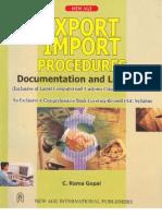 C Rama Gopal Export_Import_Procedures