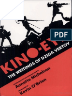 Vertov Dziga Kino-Eye the Writings of Dziga Vertov