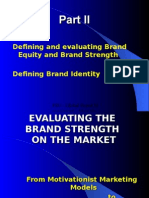 Marketing ppt(Brand Strength)
