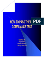 BIR Compliance Test