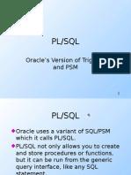 Oracle's PL-SQL