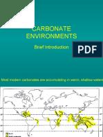 Carbonates 32, Environments 1