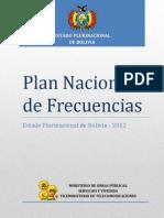 Plan Nacional de Frecuencias Bolivia