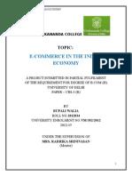 E-commerce in the Indian Economy of Flipkart.com