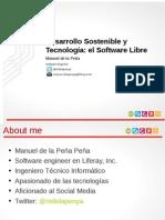 Sostenibilidadysoftwarelibre 130103104422 Phpapp01 (1)