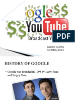 Google & Youtube