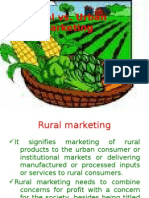 Rural Marketing-an overview