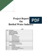 57601082 Bottled Water Industry