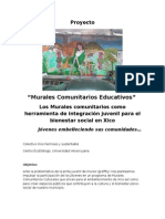 Proyecto Murales Comunitarios en Xico