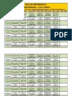 Cronograma Salas de Informatica Lorica