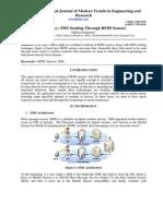 A Survey Sms Sending Through Rfid Sensors