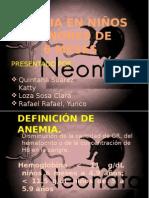 Exposicion Anemia Neo