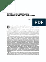 CAPACIDADES, LIBERTADES Y DESARROLLO