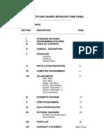 TP 3200 Manual