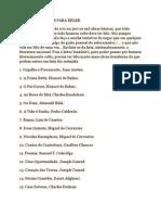 100 Obras Básicas Para Reler - Carpeaux