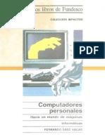 Computadores Personales - Hacia Un Mundo de Maquinas Informaticas