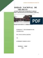 METRADO DE PISOS Y COBERTURAS - TEORICO
