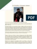 Declaración Sobre Jerusalén y El Sionismo Cristiano