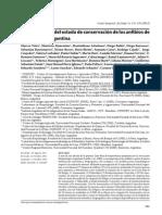 Categorizacion Del Estado de Conservación de Los Anfibios de Rgentina (Vaira Et Al., 2012)