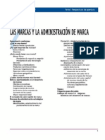Capitulo 1 Las Marcas y La Admnistración de Marca - Admnistración Estrategica de Marcas - 3 Ed. Kevin Lane Keller