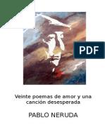 NERUDA 20 POEMAS DE AMOR Y UNA CANCIÓN Estudio