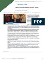 Hollande Rechaza en Minutos La Demanda de Asilo de Julian Assange _ Internacional _ EL PAÍS