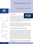 UNECA Potential for Intra Africa Trade