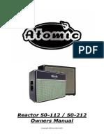 Atomic Reactor 112-212 50W - Manual