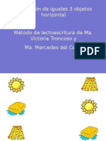 Asociacion Iguales 3 Objetos Horizontal 2